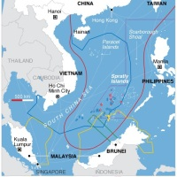U.S., South Korea and Japan eyeing investments near South China Sea