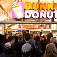 Dunkin' Brands Group Inc in early negotiations to sell itself to Inspire Brands